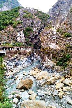 Swallow Grotto at Taroko National Park, Taiwan
