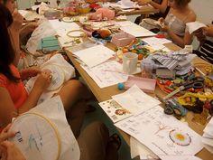 Taller bordado / Embroidery workshop at Duduá