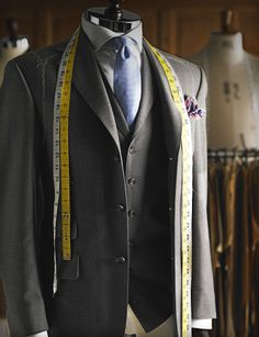 'There can be no doubt that your best suit is one that you have had made for you.' - Jeremy Hackett