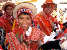 Happy boy from Cuzco, Peru