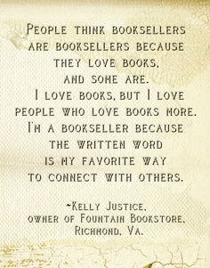 a bookseller Kelly confesses