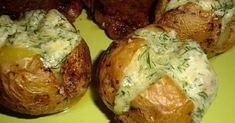 Ez a legízletesebb köret! Potato Dishes, Potato Recipes, Vegetable Recipes, Meat Recipes, Cooking Recipes, Healthy Recipes, Hungarian Recipes, Russian Recipes, Good Food