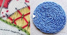 I ❤ embroidery . . . How to Make a Split Stitch, Beginner Video Tutorial~ We want to share with you a basic embroidery tutorial where you are going to learn how to do a Split stitch. For this reason we found a great article online and are willing to redirect you directly to the tutorial they have created.