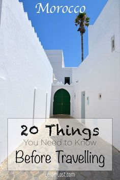 Morocco | Morocco Travel | North Africa | Travel Guide | Travel Tips | Things to Know | Marrakesh | Chefchaouen | Travel Shopping | Morocco Experience | Morocco Adventure | Active Holidays #morocco #travel via @Delphine LesterLost #AfricaTravelAdventure