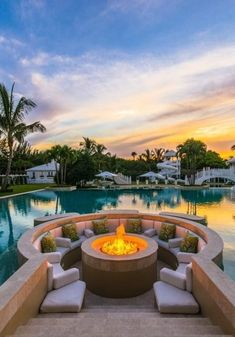 Celine Dion drops the price of her ostentatious Florida mansion.: Celine Dion drops the price of her… Luxury Swimming Pools, Luxury Pools, Dream Pools, Swimming Pool Designs, Indoor Swimming, Florida Mansion, Florida Home, Beach Mansion, South Florida