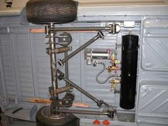 vw caddy pickup air suspension - Google Search