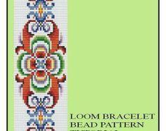 Bead Loom Vintage Motif 16 Bracelet Pattern by MyTreasureIsland