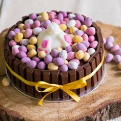 These Easter desserts are ensured to satisfy your sweet tooth. Easter is a jubilant celebration, . Read Easy Sweet Easter Cakes and Desserts Recipe to Make Chocolate Easter Cake, Milk Chocolate Ganache, Chocolate Sponge, Chocolate Cheese, Chocolate Cream, Easter Bunny Cake, Easter Treats, Easter Eggs, Food Cakes
