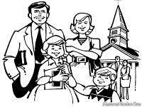 Image Result For Lembaran Mewarnai Tema Keluarga Dengan Gambar