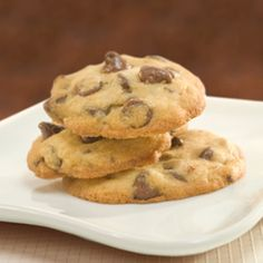 Delicious One Bowl Chocolate Chip Cookies Recipe Desserts with all-purpose…