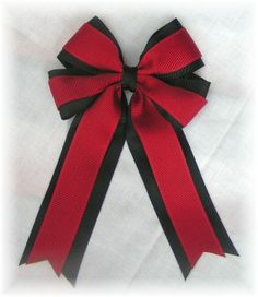 Cheerleading Pattern Research: Hair Bows  allaboutbows.com