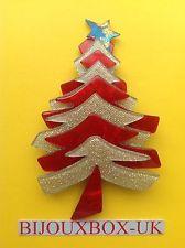 Lea Stein Sparkle Star Trimmed Holiday Christmas Tree | Lea Stein ...