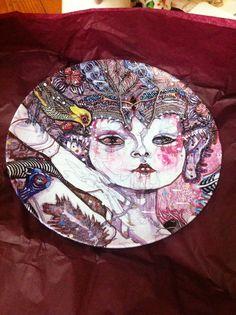 Del Kathryn Barton limited edition plate