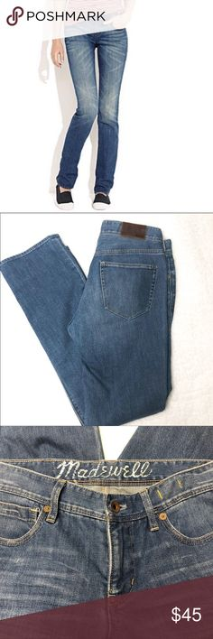 56ec71bb1d9a Waist approximately Rise approximately Inseam approximately Madewell Jeans  Straight Leg