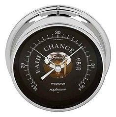 Maximum Predictor Barometer Chrome and Black (4001-5000 ft.) >>> See this great product. (This is an affiliate link and I receive a commission for the sales)