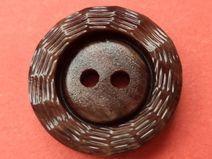 13 Knöpfe dunkelbraun 15mm (4768) Blusenknöpfe