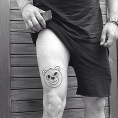 Cute Leg Tattoo Design for Men | Tattoos for Men