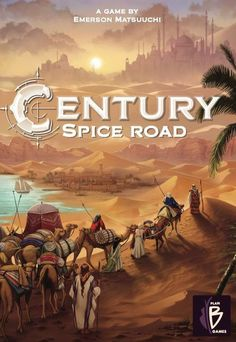 Century: Spice Road is the first in a series of games that explores the history of each century with spice-trading as the theme for the first installment. In Century: Spice Road, players are caravan leaders who travel the famed silk road to deliver spices