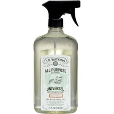 J.R. Watkins Cleaner - All Purpose - White Tea and Bamboo - 24 fl oz