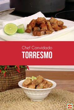 O cozinheiro Marco Aurélio Silvestre foi o convidado do dia para ensinar a preparar um torresmo delicioso!