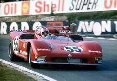 Rolf Stommelen / Toine Hezemans,Alfa Romeo 33-3 .Brands Hatch 1971.