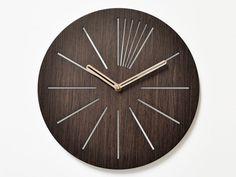 unique wall clocks  laser cut wall clock  wooden by NIUSdesign