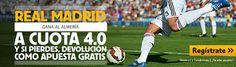 betfair Real Madrid gana Almería cuota 4 liga 12 diciembre
