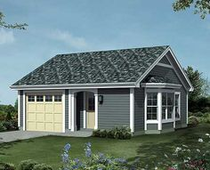 Cozy Cottage with 421 sq ft living space and 256 sq ft attached garage