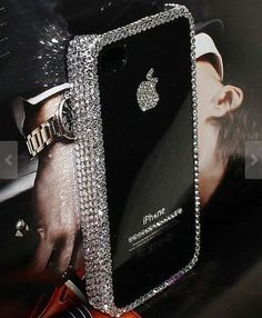 luxury iphone 5c/5s case bling by casehome1818 ... This makes me want to go buy a black iPhone. I think CoCo would approve.