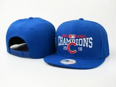 finest selection f93b7 5cbbf 2016 Champions MLB Chicago Cubs World Series Snapback Hats Blue only  US 6.00 - follow