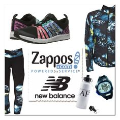 """Run the World in New Balance"" by stylez-by-bee on Polyvore featuring New Balance, Asics and NewBalance"