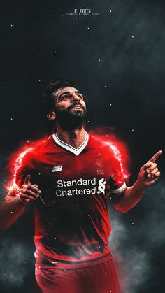 Mohamed Salah -s Liverpool Fc, Liverpool Football Club, Good Soccer Players, Football Players, Iran National Football Team, Premier League, Football Celebrations, Mohamed Salah Liverpool, Super Bowl