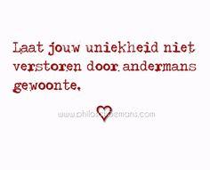 #quote #uniekheid #eenhoorn #houdvanjezelf
