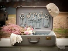 vintage suitcases for cards with pricing ideas | Decor & Details ...