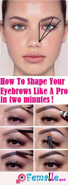 A good shape of eyebrows is that the most vital feature of your face. Girls usually ask the way to do your eyebrows at home? Thick eyebrows are beau… How To Trim Eyebrows, Full Eyebrows, Filling In Eyebrows, Tweezing Eyebrows, Threading Eyebrows, How To Thread Eyebrows, Eyebrows Grow, How To Shape Eyebrows For Beginners, Best Eyebrows