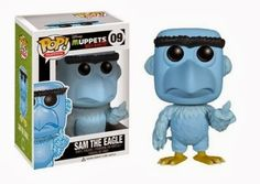 Funko POP! Muppets: Most Wanted – Sam The Eagle Action Figure http://popvinyl.net #funko #funkopop #popvinyl
