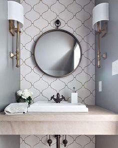 Top 20 Bathroom Tile Trends of 2017 | HGTV's Decorating & Design Blog | HGTV