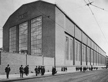 Peter Behrens AEG Turbine Factory Assembly Hall in Berlin