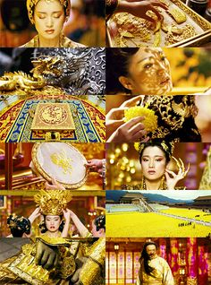 Curse of the Golden Flower, visually, the most stunning film I've ever seen!