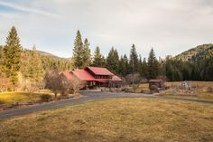 Classic custom built log home on 50 acres has a year round creek - See more at: http://search.tomlinsonsothebysinternationalrealty.com/idx/details/listing/a254/15-2710/25979-S-EVANS-CREEK-RD-Medimont-83842#sthash.gLssD7lp.dpuf
