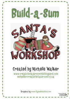 FREE MATH LESSON - �Santa�s Workshop Build-a-Sum� - Go to The Best of Teacher Entrepreneurs for this and hundreds of free lessons.