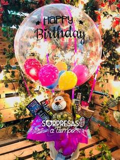 Birthday gift for kids candy bouquet balloons Birthday Balloon Surprise, Birthday Surprise For Mom, Mom Birthday, Birthday Balloons, Birthday Wishes, Birthday Ideas, Balloon Decorations, Birthday Decorations, Surprise Boyfriend Gifts