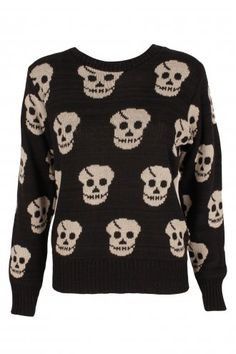 My skull jumper - one of about a million!