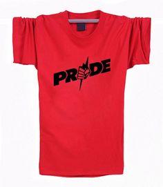Hot 2016 Summer design PRIDE FC MMA T Shirt Men New Fashion Cotton Brand Printed T Shirt Top Tees XS-XXL