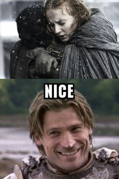 No Jaime, that doesn't happen in the Stark family - Game Of Thrones memes