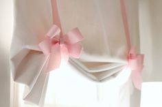 the HUNTED INTERIOR: Project Little Lady: Bedding & Bows--DIY Curtains