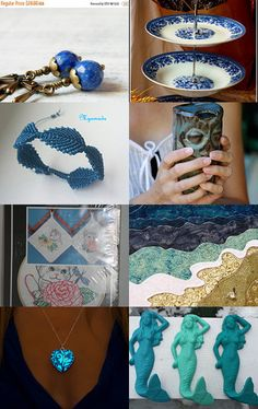Blue collection by Irina on Etsy--Pinned with TreasuryPin.com