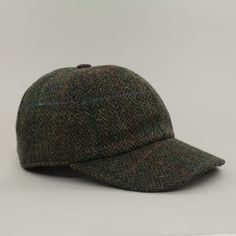 48c82c8675932 John Hanly  amp  Co. Tweed Baseball Cap - Green ( 45) ❤ liked