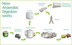 Treating our food waste Anaerobic Digestion, Renewable Energy Projects, Digestion Process, Food Waste, Biodegradable Products, Investing, General Mills, Health, Urban Design