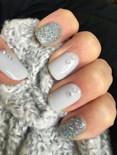 Perfect Winter Nail Designs To Make You Feel Warm Trend Nails For Winter;Trend Nails For Winter; Classy Acrylic Nails, Classy Nails, Cute Nails, Pretty Nails, Classy Nail Designs, Winter Nail Designs, Short Nail Designs, Acrylic Nail Designs, Nail Art Designs